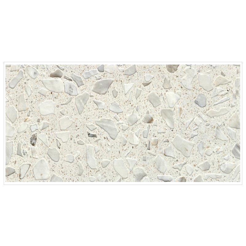 Rustic matte finish tile quartz stone terrazzo tiles series 747QY1