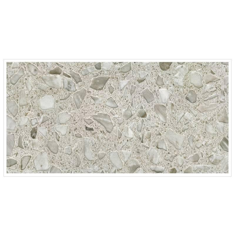 Rustic matte finish tile quartz stone terrazzo tiles series 747QY1