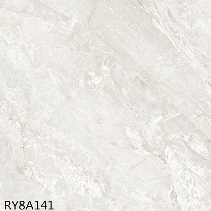 800*800mm soft light marble tile heavenly rock ry8a141