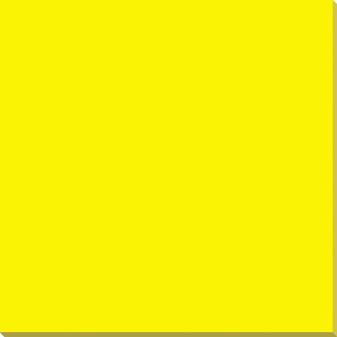Pure yellow color polished full body porcelain tile 3312