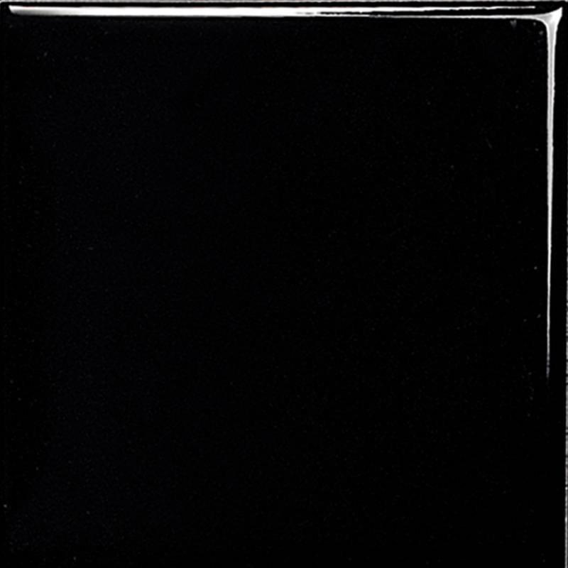 Pure color series black matte ceramic wall tiles
