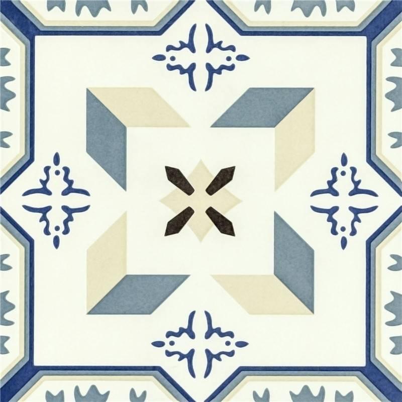 Single milan world flower tiles T2029