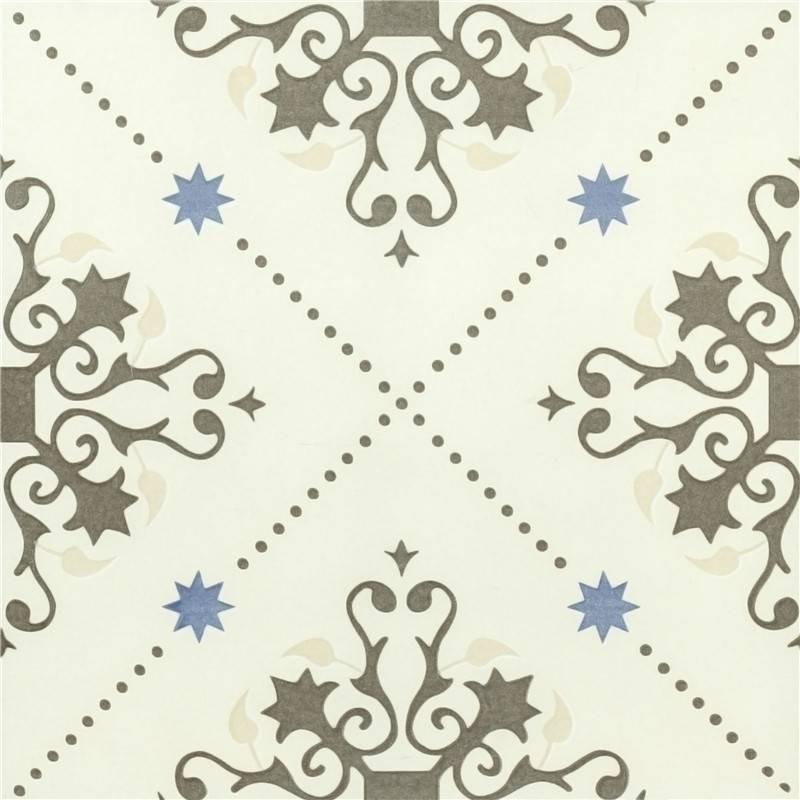 Traditional flower ceramic porcelain tiles for flooring decoration T2042