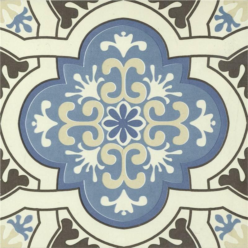 Flower design bathroom glazed wall and floor ceramic tile T2045