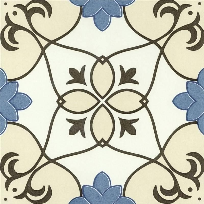Handmade flower ceramic tiles engraver wall and floor tiles T2048