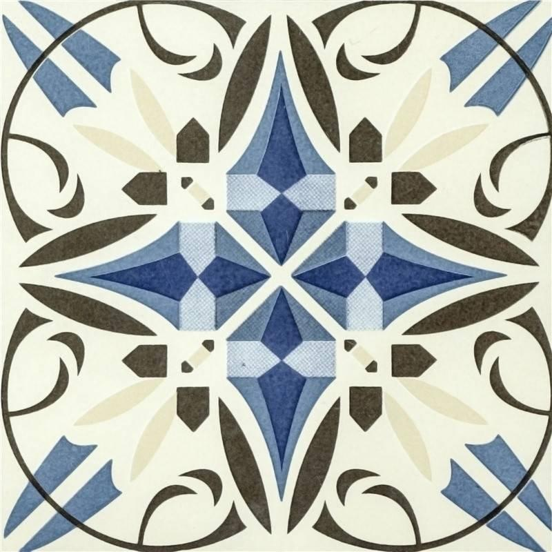 Flower design factory glaze villa ceramic tile floors tile T2049
