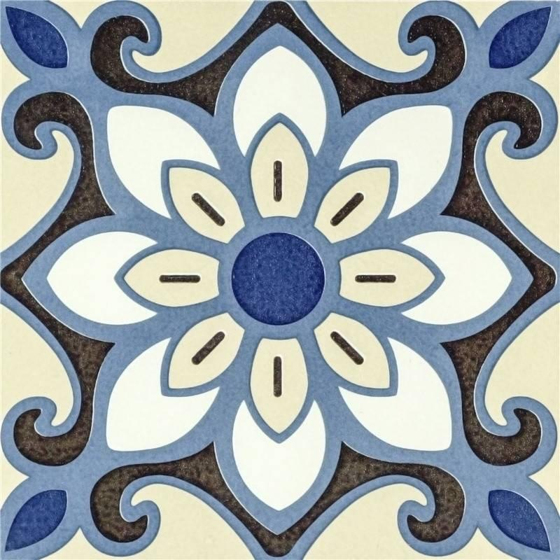 Flower design decorative ceramic tile for floor and wall T2050