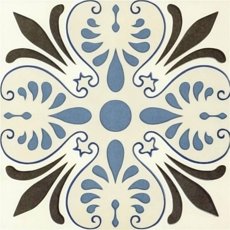 Flower pattern ceramics tile talavera porcelain wall and floor tiles
