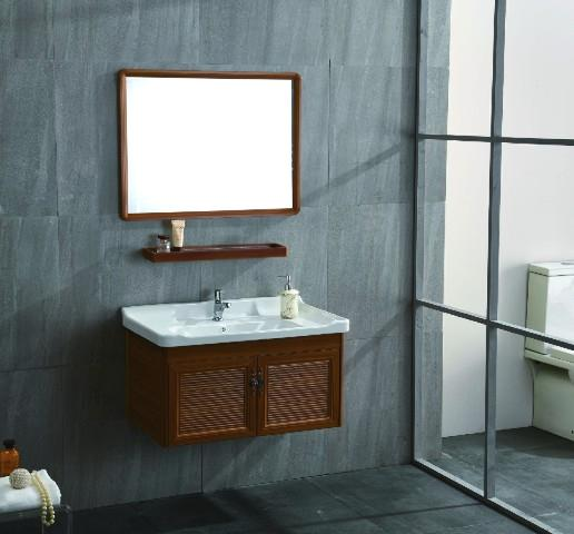 simple modern bathroom cabinet