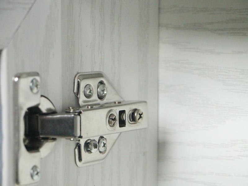 simple modern bathroom cabinet
