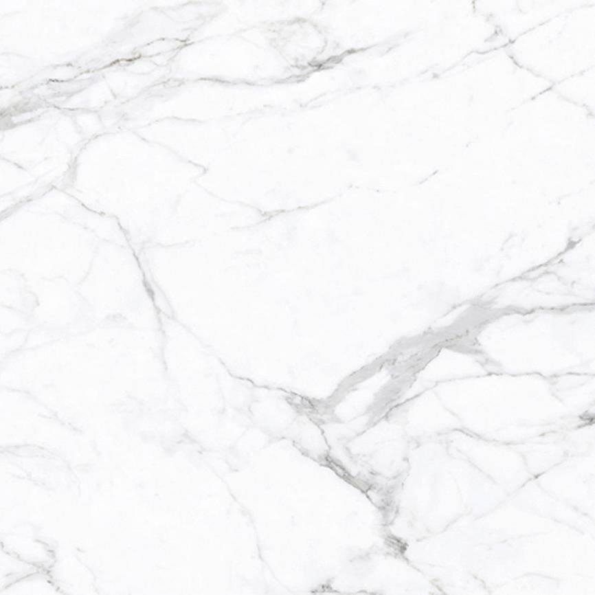 White Glazed Marble Polished Porcelain Floor Tile 800*800